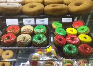 モルディブのカラフルなドーナツ